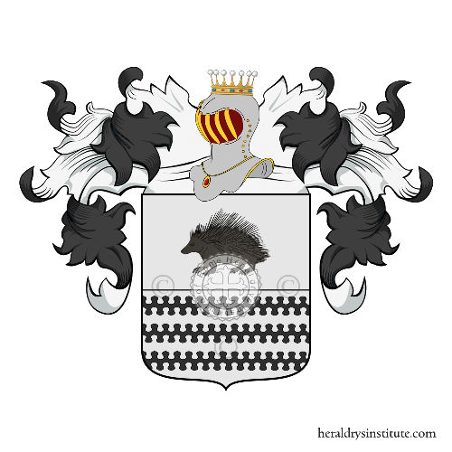 Coat of Arms of family Rizzollo