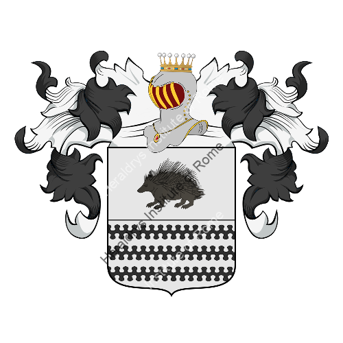 Coat of Arms of family Rizzordie