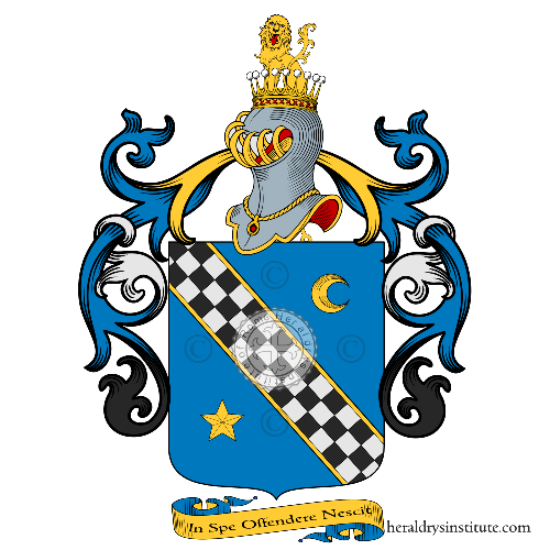 Coat of Arms of family Zelia