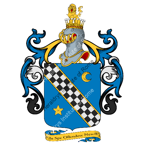 Coat of arms of family Ellia