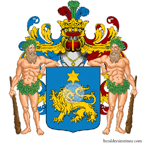 Coat of Arms of family Vittoriesi