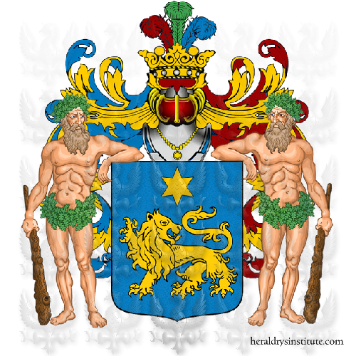 Coat of Arms of family Vittorietti