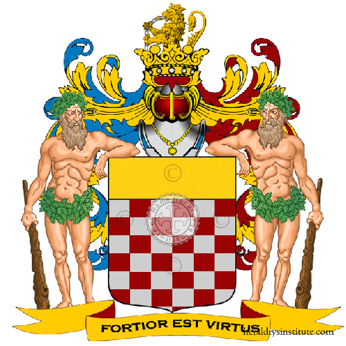 Coat of Arms of family Recagni