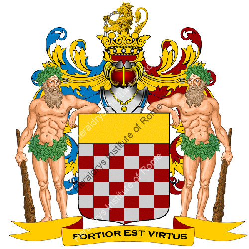 Coat of Arms of family Reccagni