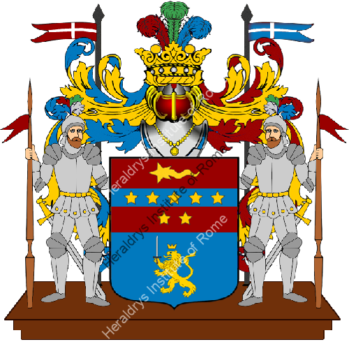 Coat of arms of family Cascione