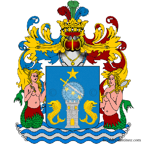 Coat of Arms of family Tantini