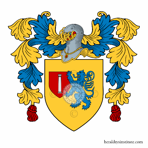 Coat of Arms of family Nioci