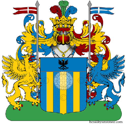 Coat of Arms of family Nessi