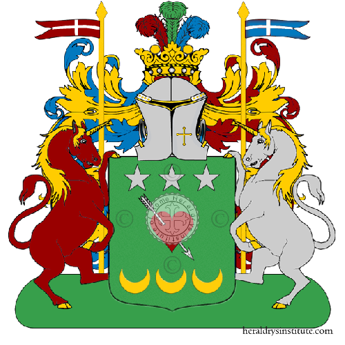 Coat of Arms of family Amorelli