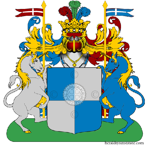 Coat of Arms of family Sanluciano