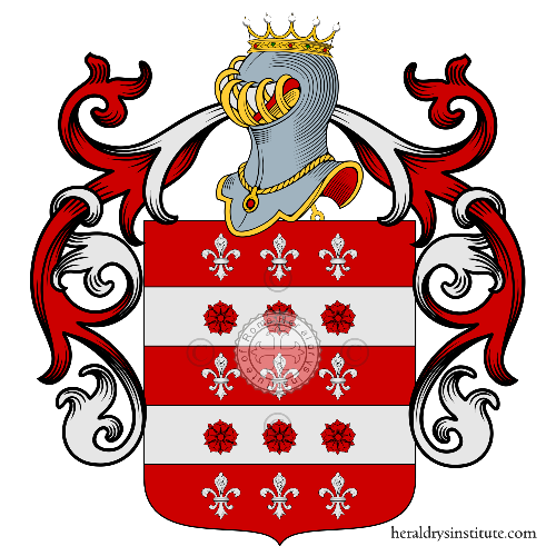 Coat of arms of family Vecchini