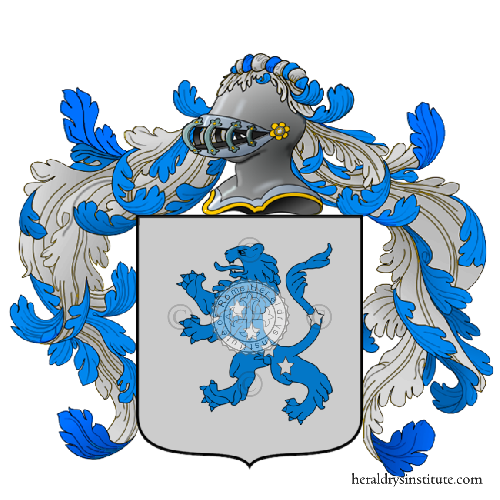 Coat of Arms of family Valbano