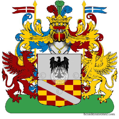 Coat of Arms of family Matteoda