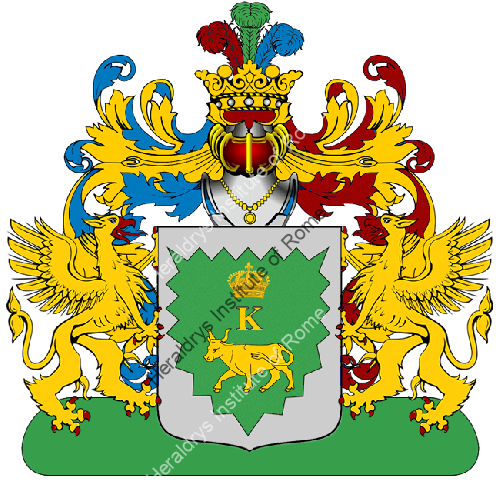 Coat of Arms of family Pove