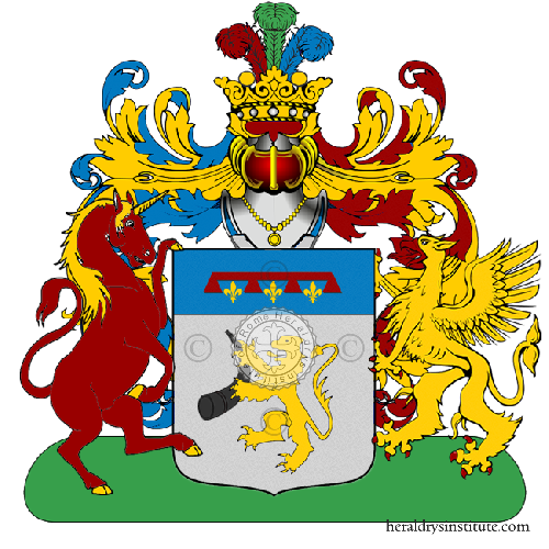 Coat of Arms of family Ghio