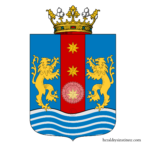 Coat of arms of family Zarinelli