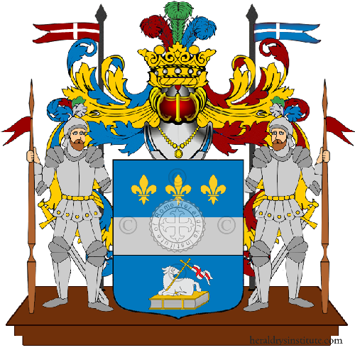 Coat of Arms of family Vedetti