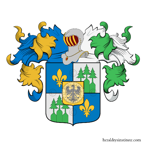 Coat of arms of family Zanetti
