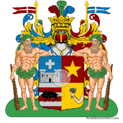 Coat of Arms of family Di Casa