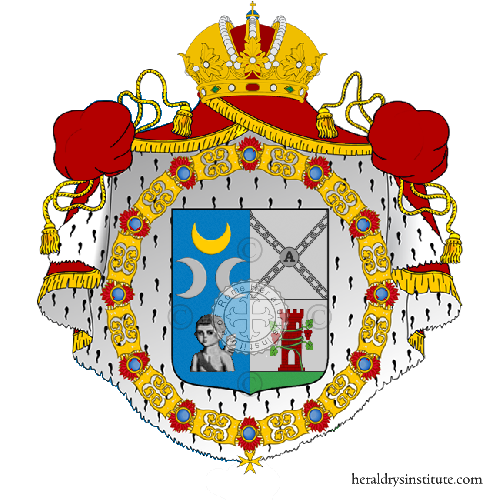 Coat of Arms of family Moroso