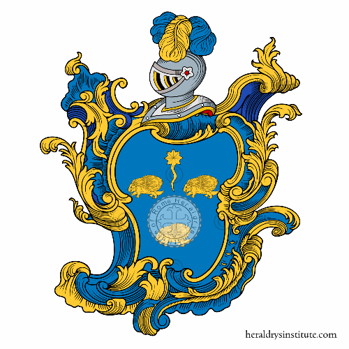 Coat of Arms of family Ricciuta