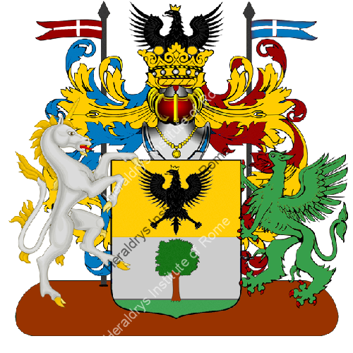 Coat of Arms of family Musca