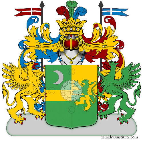 Coat of Arms of family Supparo