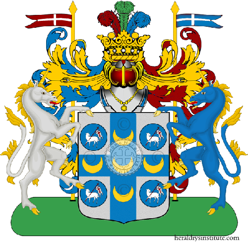Coat of Arms of family Amodei Roma