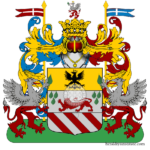 Coat of Arms of family Rusce