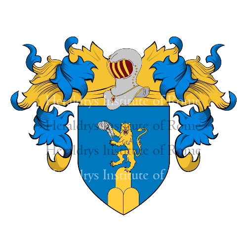 Coat of Arms of family Morrone , Morroni o Moroni