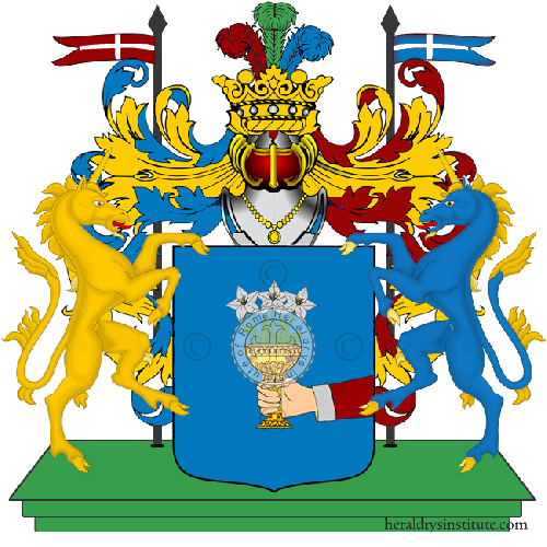 Coat of Arms of family Rasparini