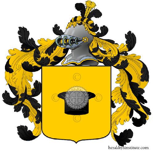 Coat of Arms of family Paretta