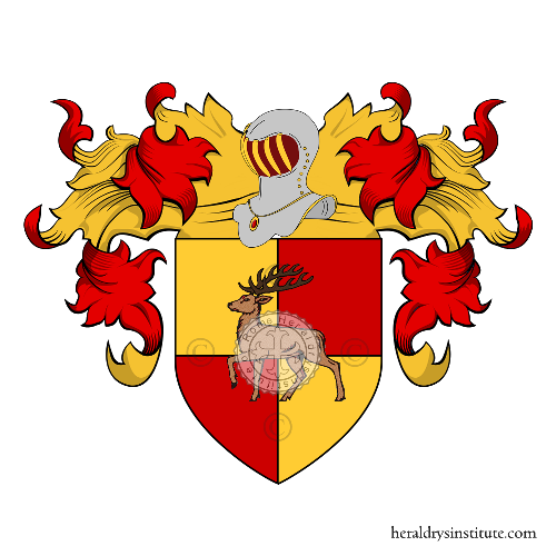 Coat of Arms of family Cavalera