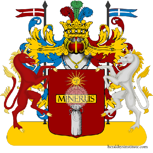 Coat of Arms of family Saccavivo