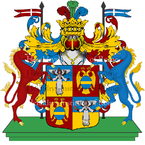 Coat of Arms of family Mersico