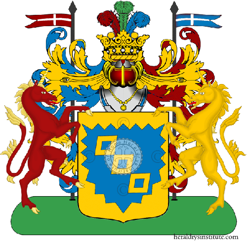 Coat of Arms of family Paglialunga