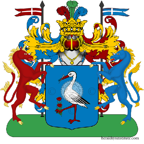 Coat of Arms of family Pagnarelli