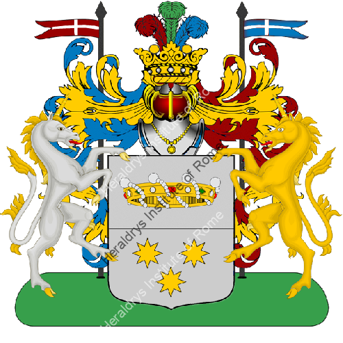 Coat of Arms of family Nuca