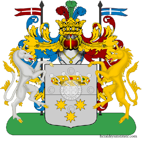 Coat of arms of family Zuca