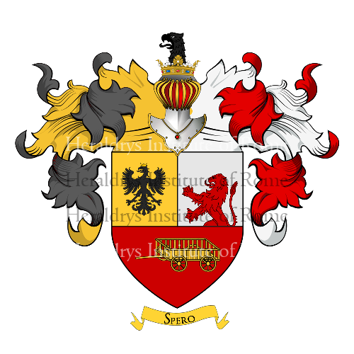 Coat of Arms of family Carminati di Brambilla
