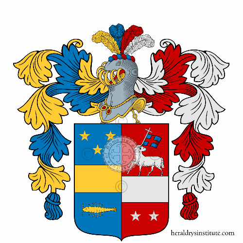 Coat of Arms of family Melfa