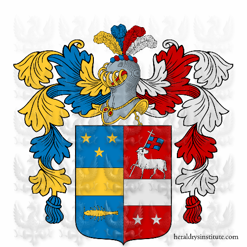 Coat of Arms of family Melfitani