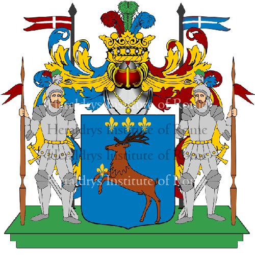 Coat of arms of family ceroni