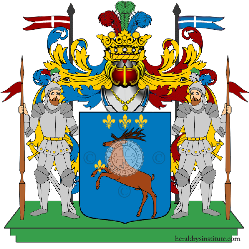 Coat of arms of family Cerroni
