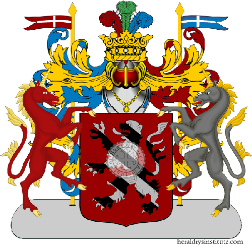 Coat of Arms of family Pava