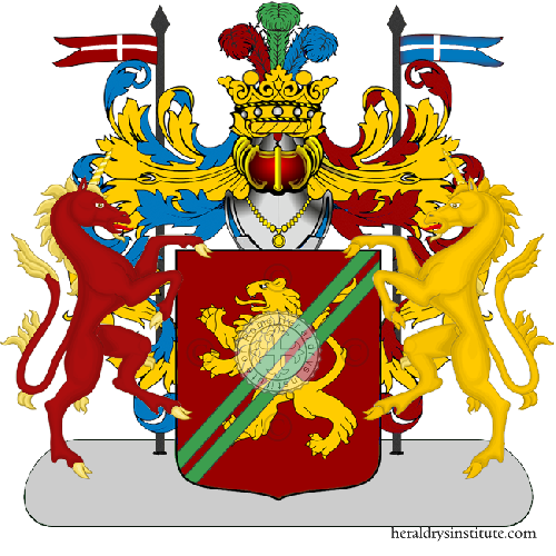 Coat of arms of family Sestagalli (Lombardia) - ref:13121