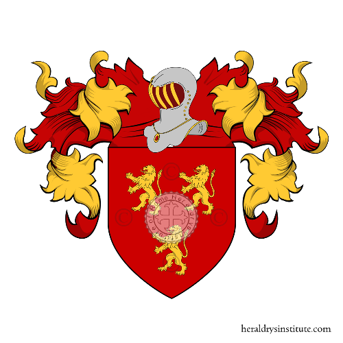 Coat of Arms of family Tito
