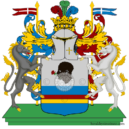 Coat of arms of family Falzoni
