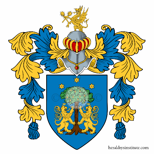 Coat of Arms of family Pilonero