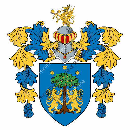 Coat of Arms of family Pilorusso